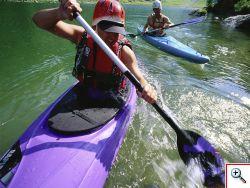 Rafting, Kanufahrten