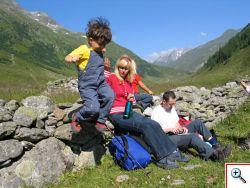 Wandern mit Kids